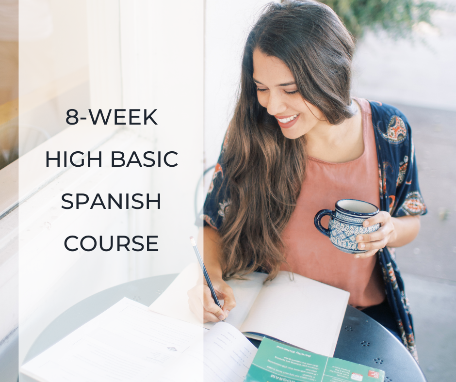 High Basic Spanish Course